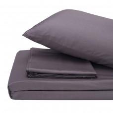 Bed linen set satin Lelitt Gray SoundSleep euro