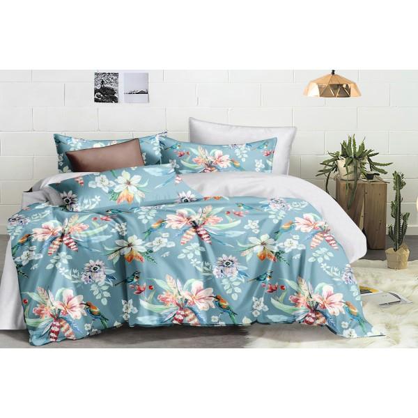 Комплект постельного белья SoundSleep Flower bouquet сатин семейный