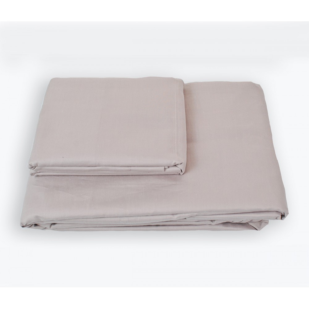 Простынь на резинке SoundSleep Shine сатин purple лиловая 180х200 см