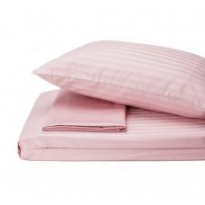 Bed linen set Stripe Madina SoundSleep satin stripe pudra euro