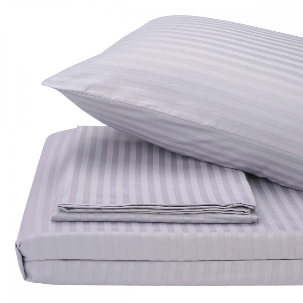 Комплект постельного белья Florium Grey серый SoundSleep евро