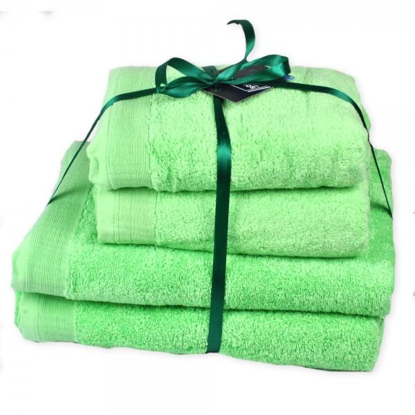 Набор махровых полотенец Elation Mint ТМ SoundSleep мятный 600г