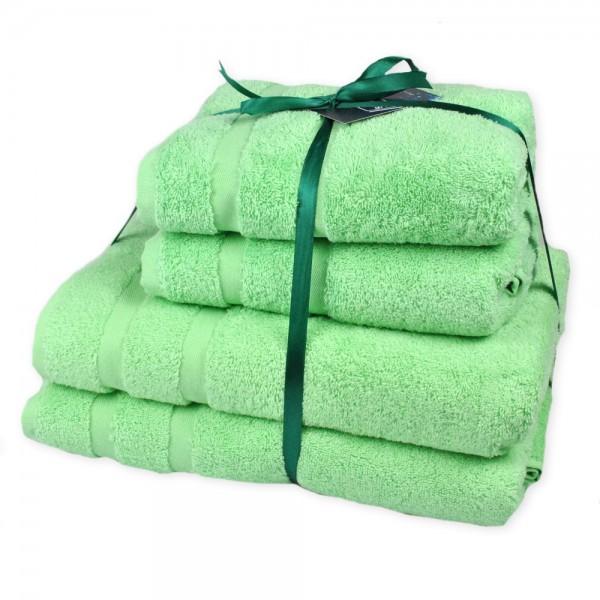 Набор махровых полотенец Homely Mint ТМ SoundSleep мятный 500г