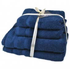 Terry towel set Homely Sapphire TM SoundSleep dark-blue 500g