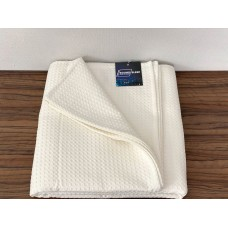 Bedspread cotton SoundSleep Caprise milk 150x200 cm