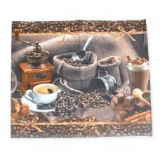Полотенце вафельное кухонное Coffee ТМ Emily 50х63 см