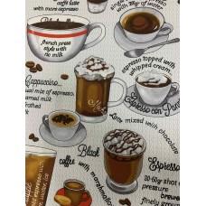 Полотенце вафельное кухонное Tea ТМ Emily 40х50 см