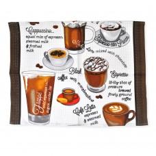 Полотенце вафельное кухонное Tea ТМ Emily 50х63 см
