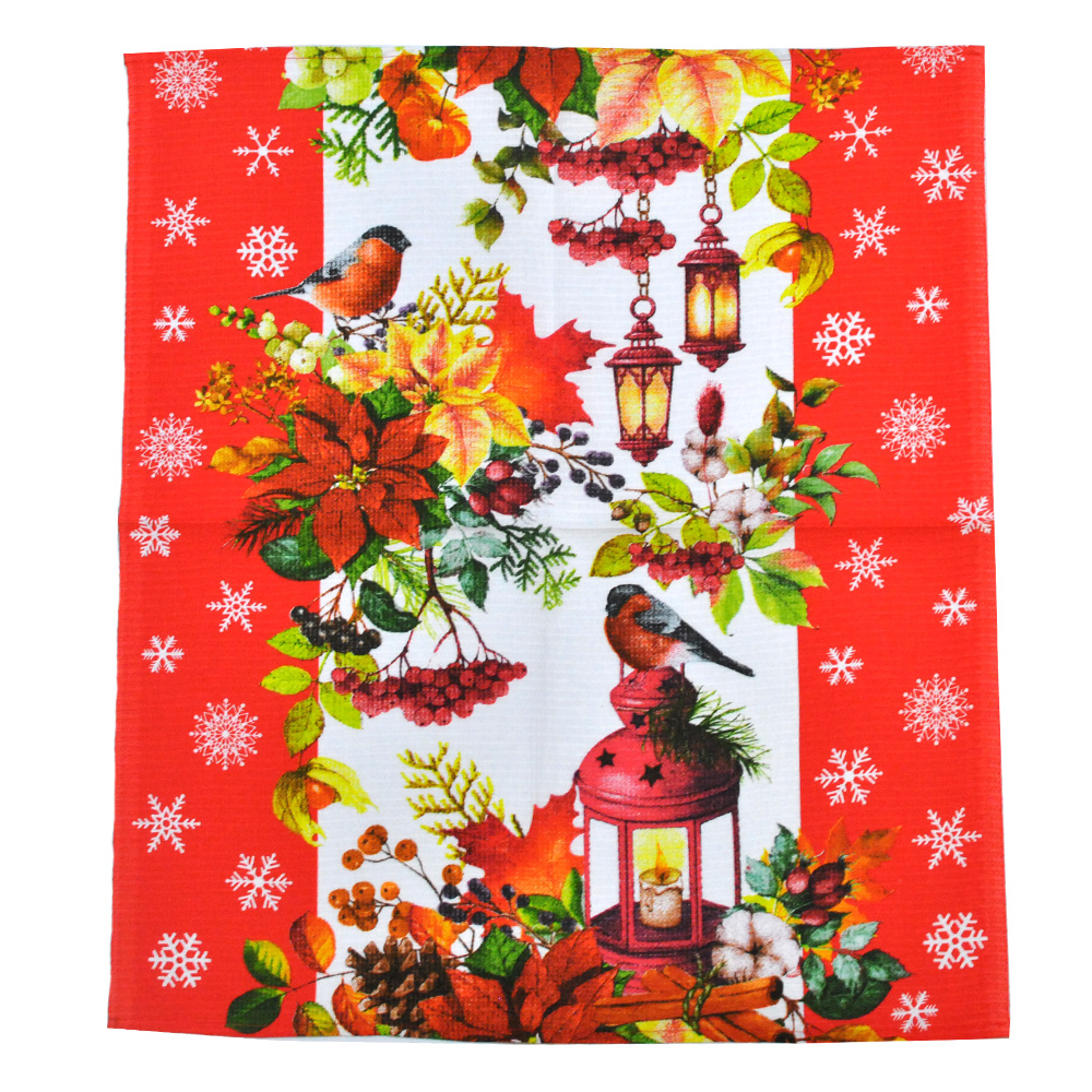 Полотенце вафельное кухонное Birds ТМ Emily 50x63 см