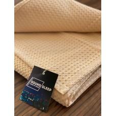 Bedspread cotton SoundSleep Caprise coffee 150x200 cm