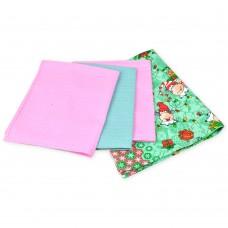 Set of waffle kitchen towels Cute cow TM SoundSleep