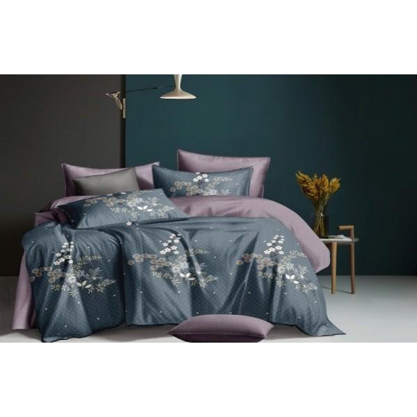 Комплект постельного белья SoundSleep Night flower сатин полуторный