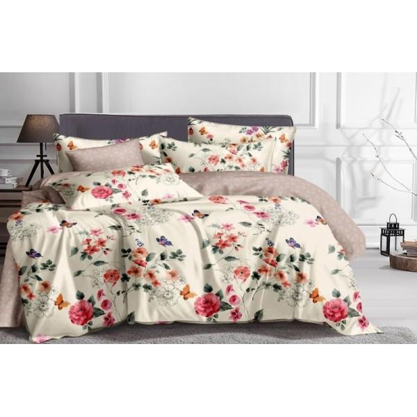Комплект постельного белья SoundSleep Butterflies сатин евро
