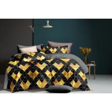 Bed linen set SoundSleep Golden mosaic euro