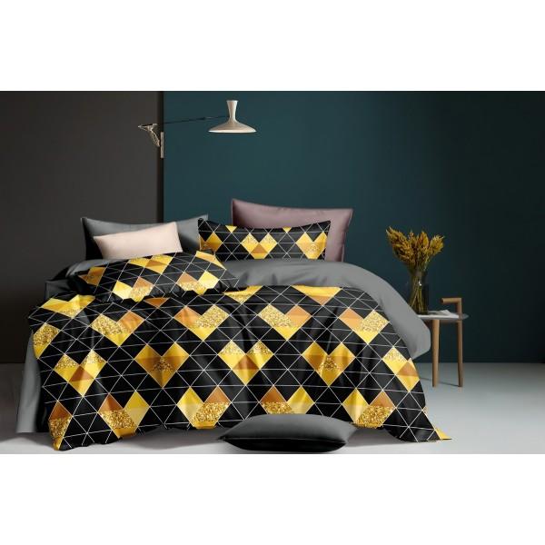 Комплект постельного белья SoundSleep Golden mosaic сатин евро