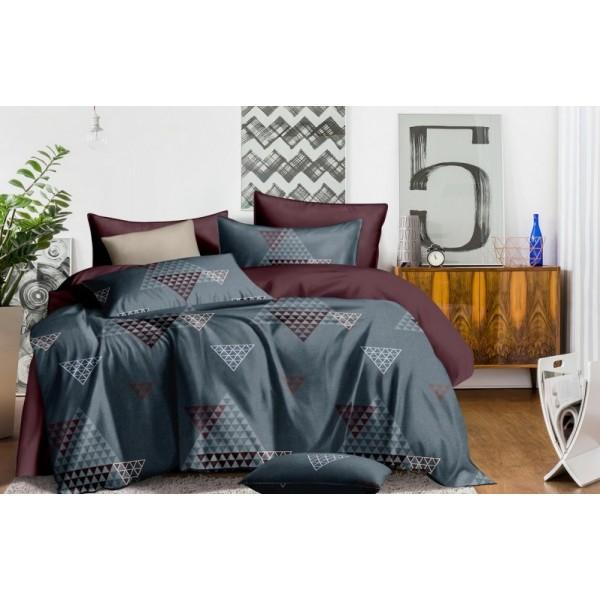 Комплект постельного белья SoundSleep Mysterious triangles сатин полуторный