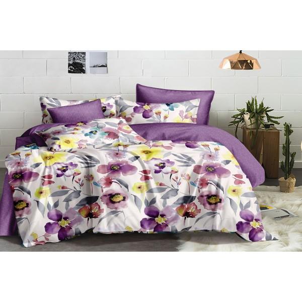 Комплект постельного белья SoundSleep Floral inspiration сатин евро