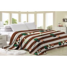 Fleece blanket SoundSleep Сactus 150x210 cm